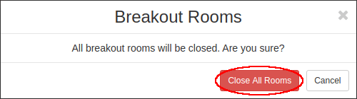 close all rooms