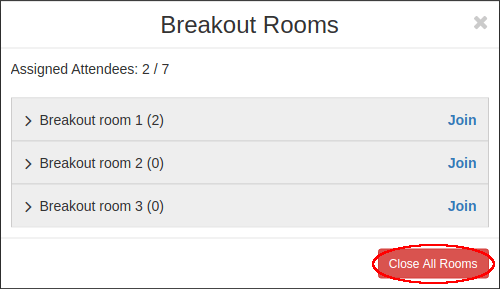 close breakout rooms